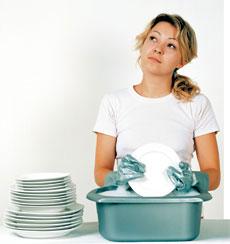 Кто в семье должен мыть посуду?