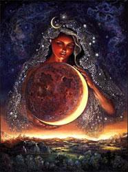 Какие обряды проводят на растущую Луну?