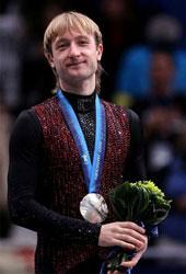 Почему Евгений Плющенко второй?