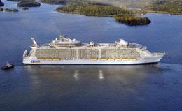 Самый большой круизный лайнер в мире?