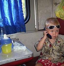 Как путешествовать на поезде с малышом?