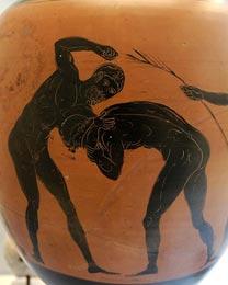 Когда возникли первые античные Олимпийские игры?
