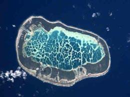 У какого острова девять глаз?