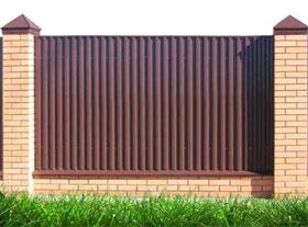 Как установить забор?