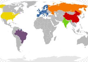 Какие государства - потенциальные сверхдержавы?
