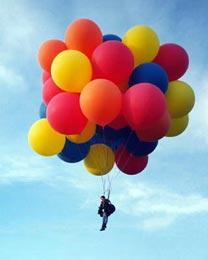 Почему воздушные шары взлетают?