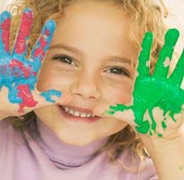 Что такое пальчиковые краски для детей?
