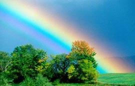 Как образуется радуга?