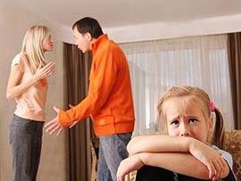 Как правильно вести себя с детьми после развода?