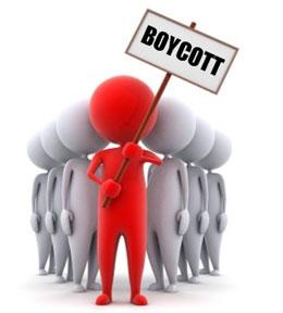 Кому первому объявили бойкот?