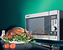 Вредно ли готовить в микроволновке?