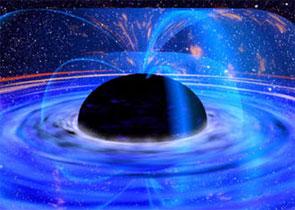 Чёрная дыра в космосе?