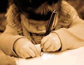Почему малышам сложно писать буквы?