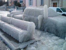 Что такое ледяной дождь?