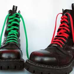 Когда появились шнурки?