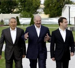 Когда был создан Таможенный Союз Казахстана, России и Белоруссии?