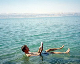 Почему Мертвое море - мертвое?