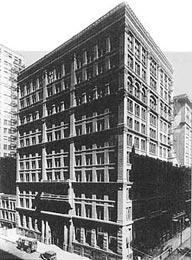 Когда был построен первый небоскреб?