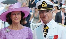В немецкой таверне отказали в обслуживании шведской королевской чете
