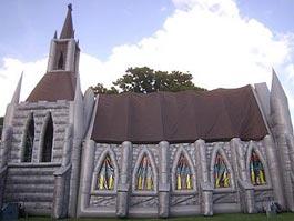 На Камчатке установят надувной католический храм