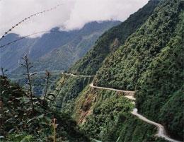 Какая  дорога самая опасная в мире?