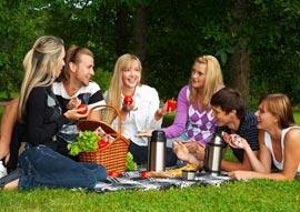 Как провести семейный пикник?