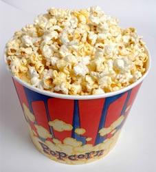 Кто придумал попкорн?