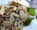 Как приготовить миндальный рис?