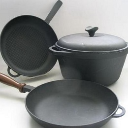 Чем отличается чугунная посуда?