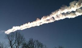 Метеорит упал на Челябинск