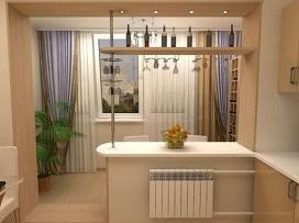 Как увеличить жилую площадь за счет балкона?