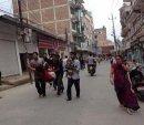 Мощное землетрясение в Непале